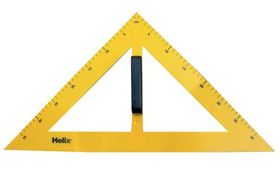 Helix Blackboard Set Square Plastic - 45 Degrees