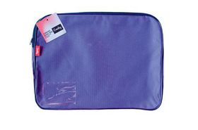 Croxley Canvas Gusset Book Bag - Purple