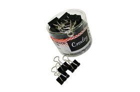 Croxley Foldback Clips - 19mm (Tub of 48)