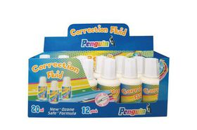Penguin Correction Fluid - Display Box of 12