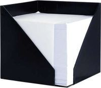 Croxley Desk Cube Holder - Black