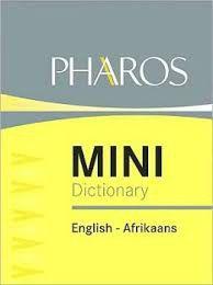 Pharos Mini Dictionary - Woordeboek