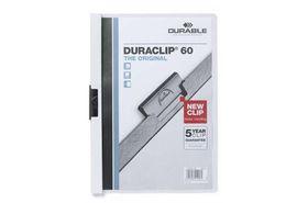 Durable Duraclip 60 Page Folder - White
