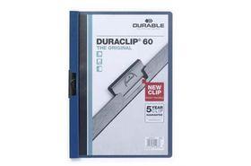 Durable Duraclip 60 Page Folder - Dark Blue
