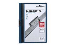 Durable Duraclip 60 Page Folder - Midnight Blue