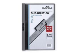 Durable Duraclip 60 Page Folder - Anthracite Grey