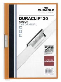 Durable Duraclip 30 Page Folder - Orange