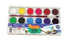 Jovi Watercolour Paints - 12 Colours