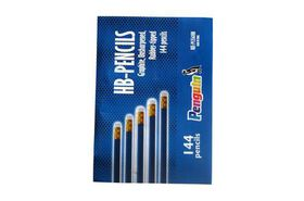 Penguin Graphite Pencils Rubber Tip - HB (Pack of 144)