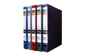 Croxley A4 2 D-Ring Ringbinder - Assorted Colours (10 Pack)