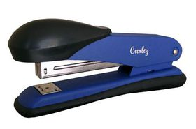 Croxley Full Strip Stapler Metal Body with Plastic Trim - Blue