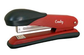 Croxley Full Strip Stapler Metal Body with Plastic Trim - Red