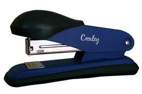 Croxley Half Strip Stapler Metal Body with Plastic Trim - Blue