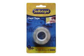 Sellotape Clear Tape Refill - 18mm x 33m