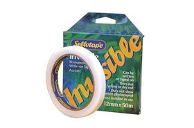 Sellotape Invisible Acetate Tape - 12mm x 50m