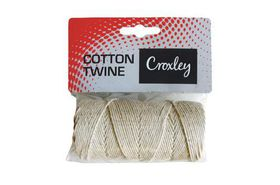 Croxley Cotton Twine 104 Carded - 1 Roll (100g)