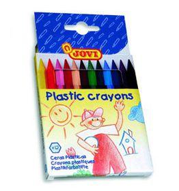 Jovi Plastic Hexagonal Crayons