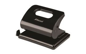 Rexel V220 2 Hole Metal Punch - Black