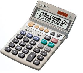 Sharp EL-782C Desktop Calculator