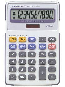 Sharp EL-334F Desktop Calculator
