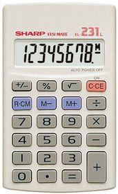 Sharp EL-231LB Pocket Calculator