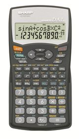 Sharp EL-531WHB Scientific Calculator
