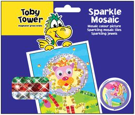 Toby Tower Sparkle Mosaic - Lion
