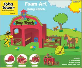 Toby Tower Large Activity Foam Art- Pony
