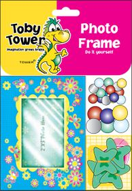 Toby Tower Photo Frame - Spring Blue