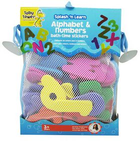 Toby Tower Splash 'n Learn Alphabet and Bag