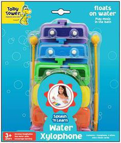 Toby Tower Splash 'n Learn Water Xylophone