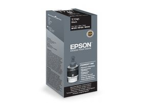 Epson T7741 Pigment Black Ink Bottle 140ml