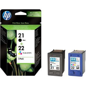 HP 21/22 Combo-Pack Ink Cartridges