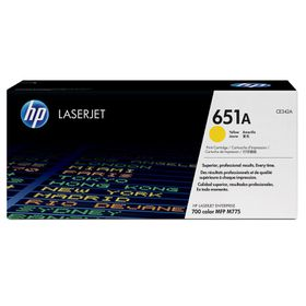 HP 651A LJ Enterprise 700 Color MFP M775 Series Toner Cartridge - Yellow