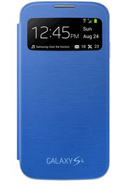 Samsung Galaxy S4 S-View Cover - Light Blue
