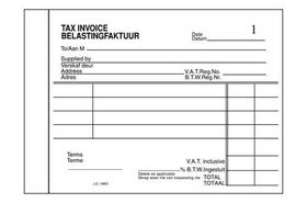 Croxley JD16BO A6L Invoice Pen Carbon Book Duplicate