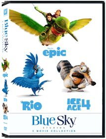 Blue Sky Collection: Rio / Ice Age 4 / Epic (DVD)