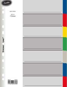 Bantex A4 7 Division P.P File Dividers