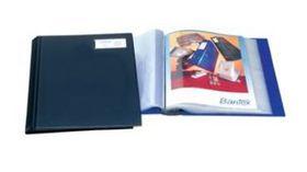 Bantex PVC Rigid Cover Display Books - Black