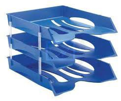Viking Economy Letter Tray - Cobalt Blue (Single Tray Only)