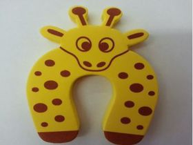 4aKid - Foam Door Stopper - Yellow Giraffe