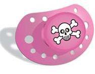 Elodie Details - Pacifier - Skulls Pink