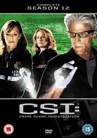 CSI - Crime Scene Investigation: The Complete Season 12 (Import DVD)
