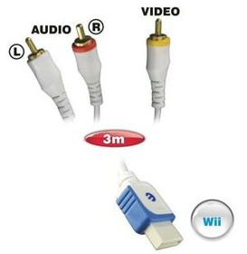 Ellies Composite Wii To 3Rca Male - 3M