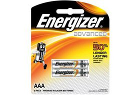 Energizer Advanced Alkaline AAA Batteries