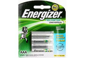 Energizer Rechargeable NiMH AAA 700 mAh Batteries
