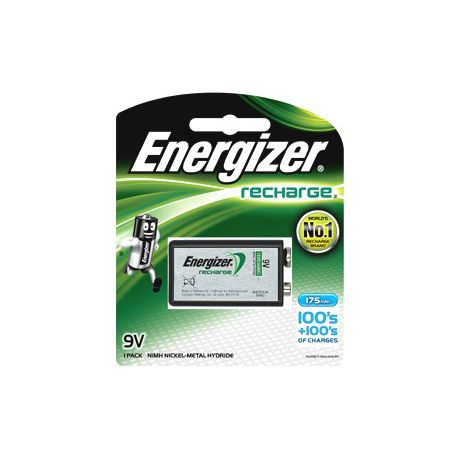9cdeeafb40c74d Energizer Rechargeable NiMH 9 Volt 175 mAh Battery | Buy Online in South  Africa | takealot.com