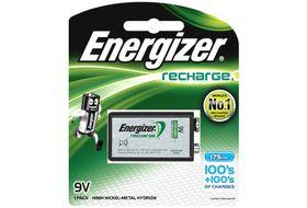 Energizer Rechargeable NiMH 9 Volt 175 mAh Battery