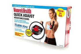 Womens Health Quick Adjust Resistance Bands