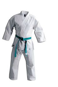 adidas Club Karate Training Uniform - White